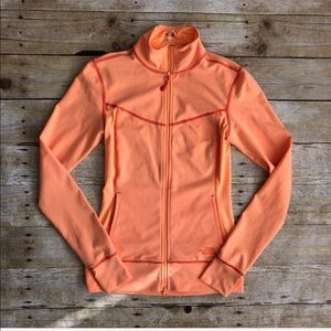 THE NORTH FACE zippered running track jacket